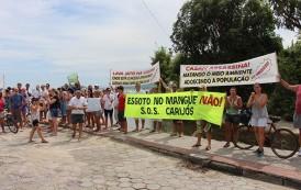 Moradores de Canasvieiras cobram agilidade para resolver problema de poluição do Rio do Brás
