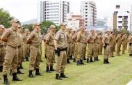 Curso de formação de soldados da PMSC é retomado