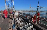 Vigas da Ponte Hercílio Luz começam a ser substituídas