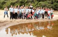 Alunos da escola Maria Tomázia Coelho visitam o Costão do Santinho Resort