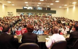 Audiência sobre MP da reforma do ensino médio realizada  na Assembleia Legislativa é encerrada após protestos
