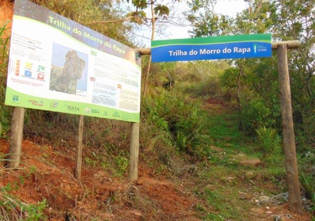 Trabalho de revitalização das trilhas  da Ilha são concluídos pela Floram