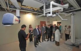 Membros da Comissão de Saúde da AL visitam o Cepon e vistoriam obras