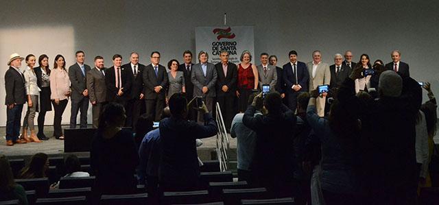 Foto oficial do novo Conselho Estadual de Turismo (Foto: Secom)