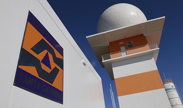 Santa Catarina passa a contar com mais um radar meteorológico
