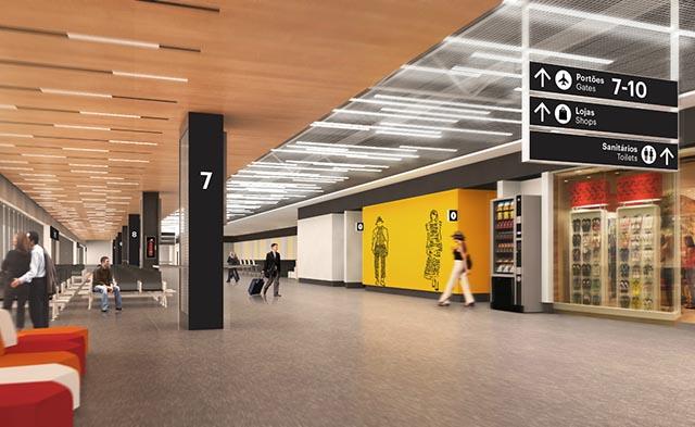 O projeto do novo terminal prevê integração com a natureza da Ilha (Foto: Divulgação)