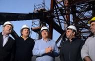 Governador e secretários visitam obras de restauração da Ponte Hercílio Luz