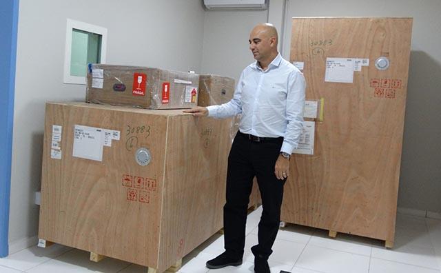 UPAs Norte Sul e  recebem novos aparelhos de raios-x