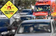 """Campanha """"Abra Caminho Para a Vida"""" reforça o bom senso no trânsito"""