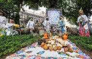 Presépio natural e artesanal da Praça XV já pode ser visitado